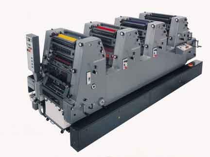 Внешний вид офсетного принтера