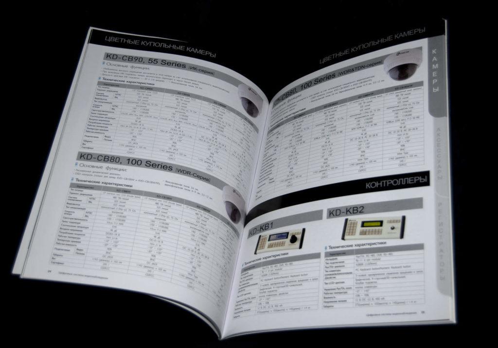 Верстка каталогов
